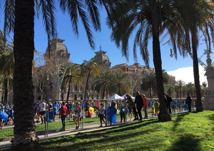 finish barcelona halve marathon