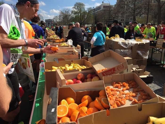fruit finishgebied parijs 42km