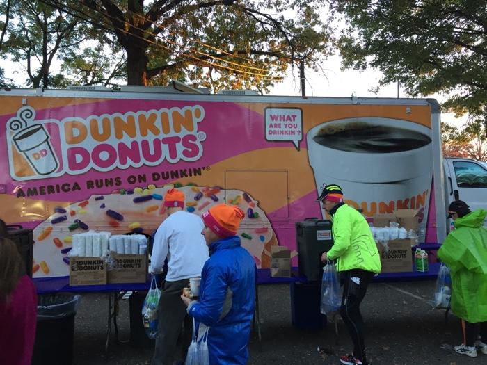 koffie dunkin donuts nyc marathon