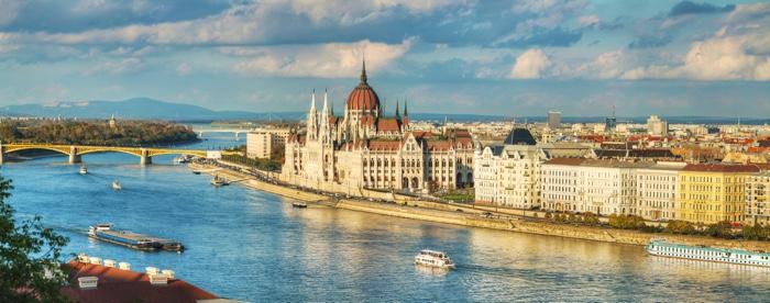 boedapest panorama rivier