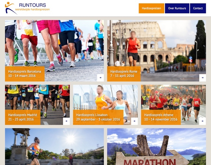 runtours website