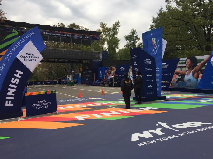 finish new york city marathon