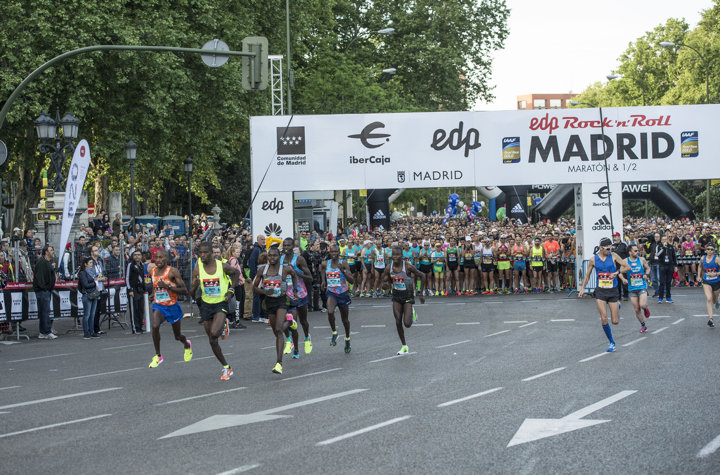 start marathon madrid