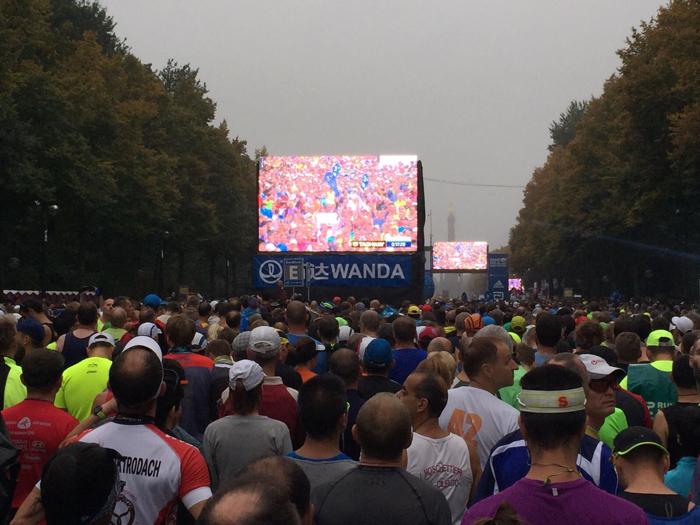 startvak marathon