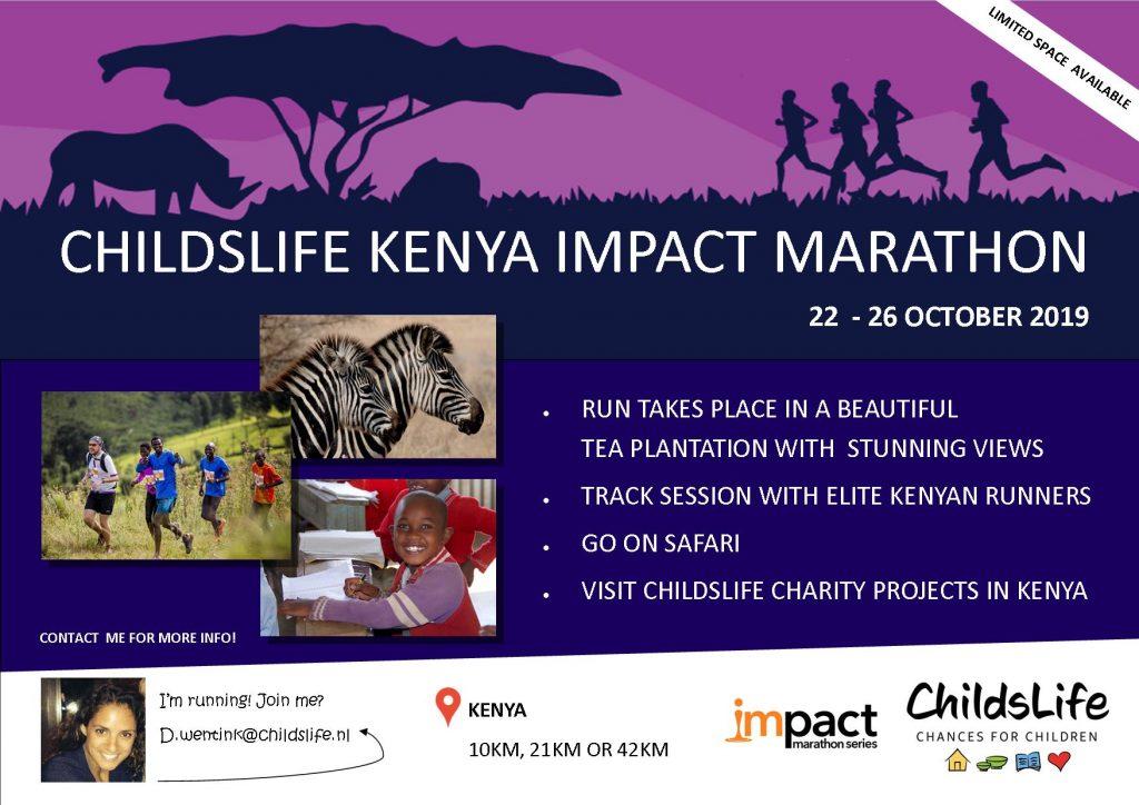ChildsLife KENYA Impact Marathon