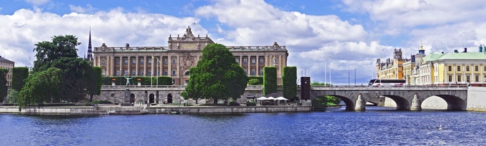 panorama foto stockholm
