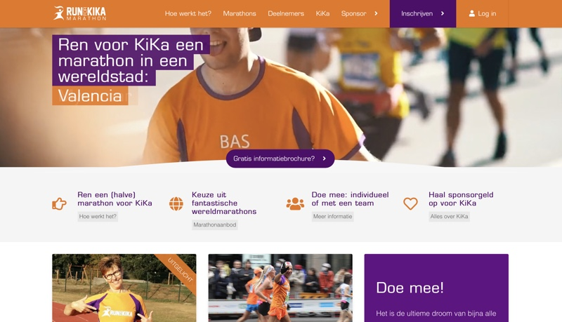 run for kick marathon website