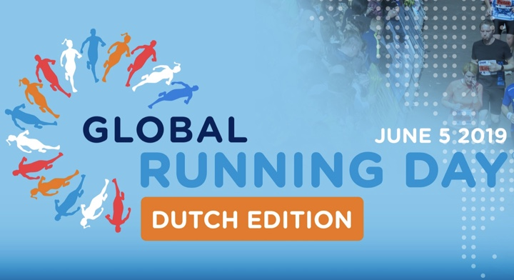 global running day logo