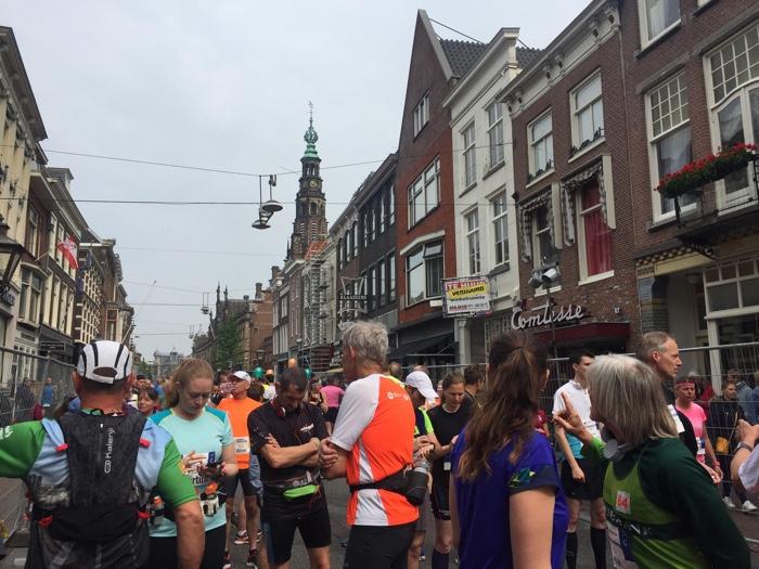 startvak marathon van Leiden