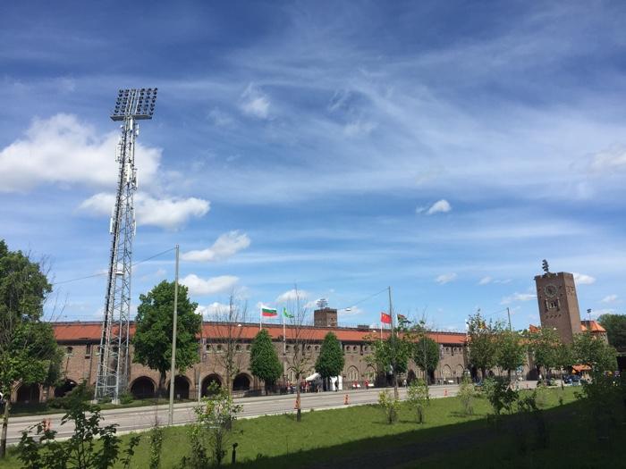Het Olympisch Stadion in Stockholm