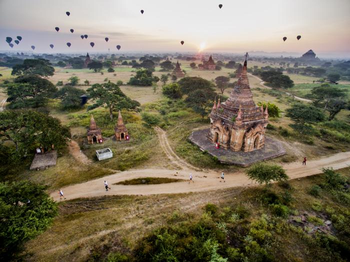 Bagan Temple bucketlist marathons