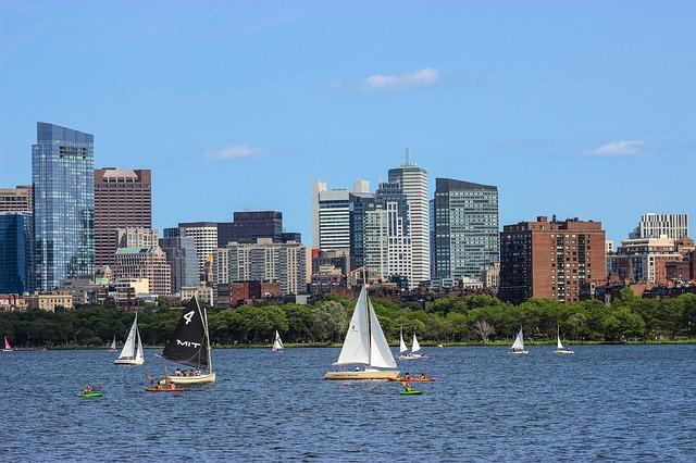 marathonreis naar boston skyline