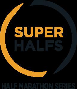 SuperHalfs Halve Marathon Logo