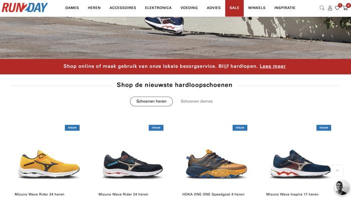 website van run2day
