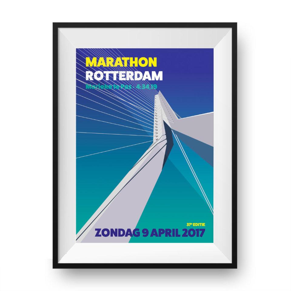 rotterdam marathon print